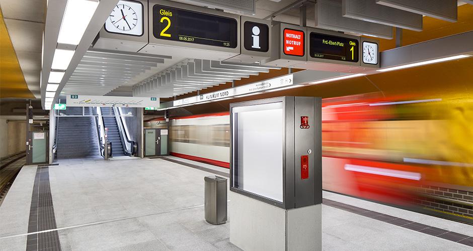 Architekturfotografie U-Bahnhof Nürnberg