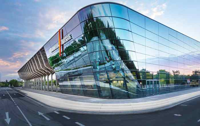 Architekturfotografie Messehalle Nürnberg