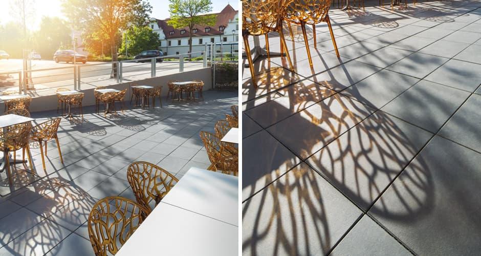 Architekturfotografie Terrasse