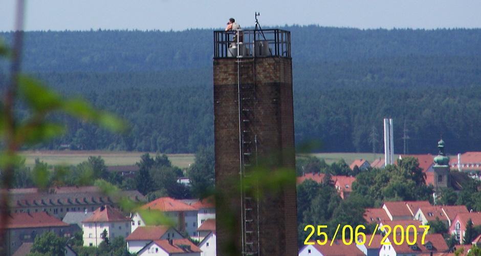 Fotos vor Ort Schornstein