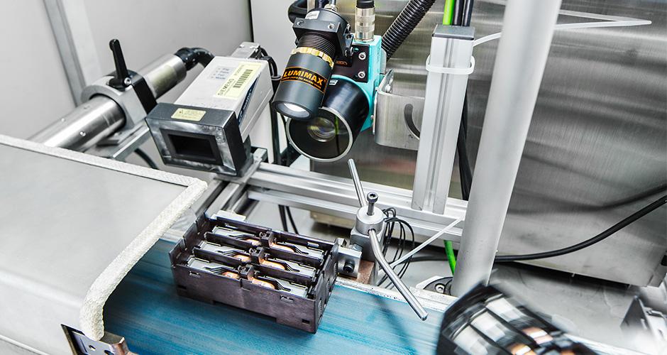 Industriefotografie Fliessband