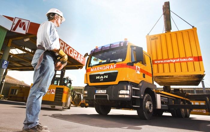 Industriefotografie Containerverladung