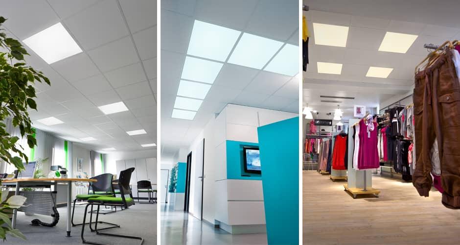 Produktfotografie LED-Einbauleuchten