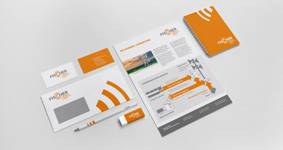 zweckdesign corporate design für sirenenbau fischer aus freudenberg