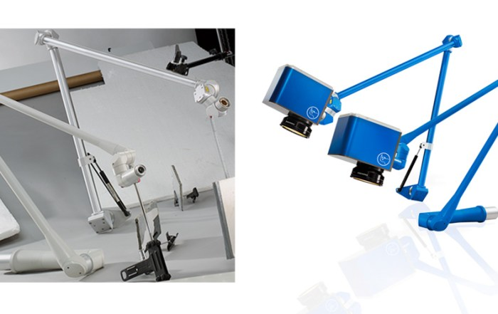 Postproduktion Laserköpfe