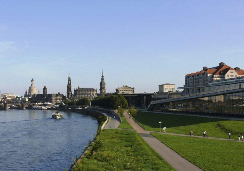 Maritim Hotel Dresden - Außenansicht