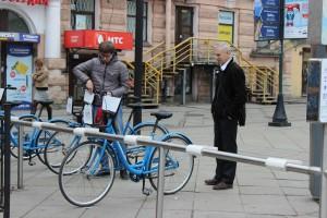 Zwei Euro kostet ein Rad pro Tag