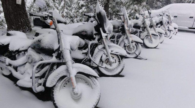 Motorrad einwintern