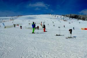 Das Skigebiet am Feldberg ist noch bis zum 03.04. geöffnet
