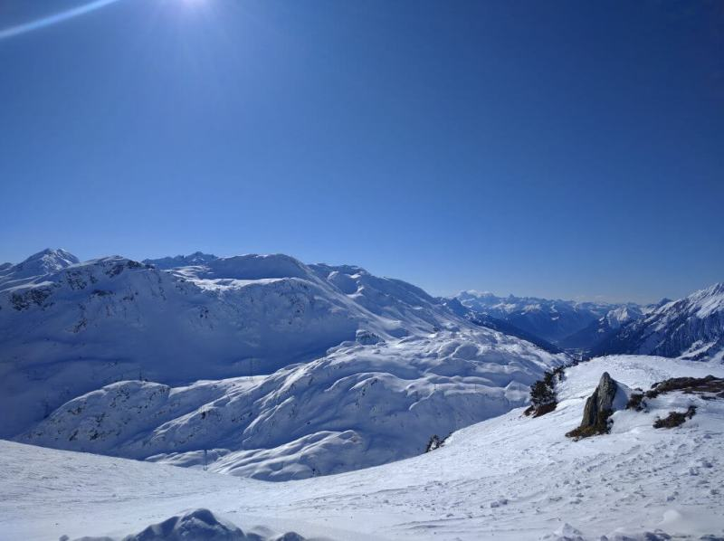 Tirol unberührte Pisten