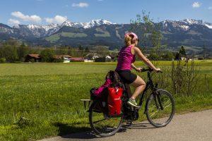 E-Bike - Andrea vor Bergen