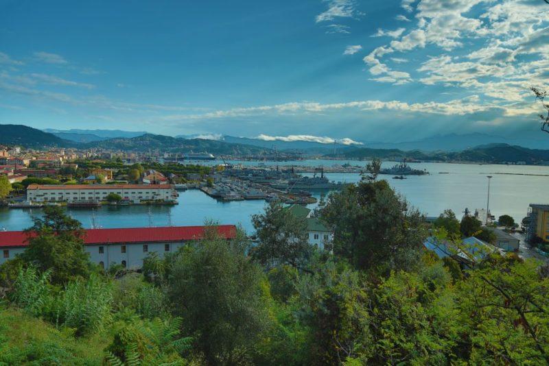 La Spezia Hafen Italien