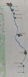 Der Illerradweg: Die ganze Route im Überblick