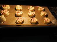 und in den Ofen