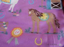 Pferdchen und mädchenfarben, hoch im kurz bei kleinen Rabaukenprinzessinen