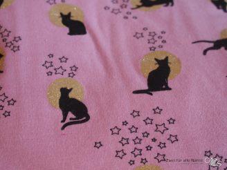 Die Katzen mit Glitzer, Rabaukenprinzessin wünscht daraus einen Schlafi