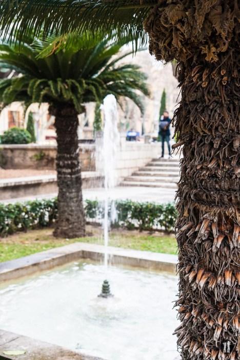 Palma de Mallorca - S'Hort del Rei Brunnen
