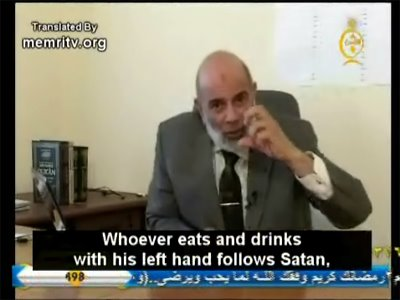NICC - ghoneim left-handed Satan