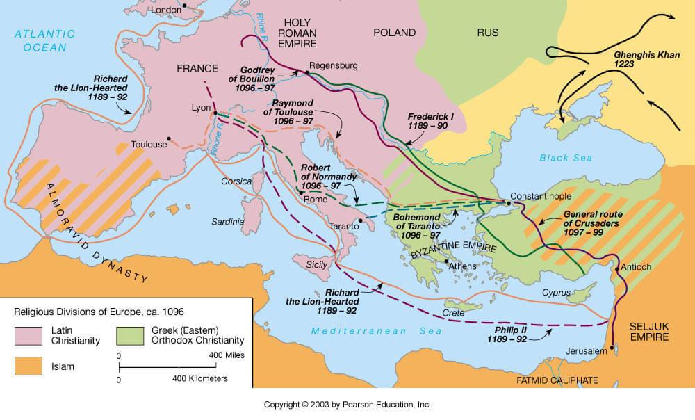 crociate clermont prima crociata