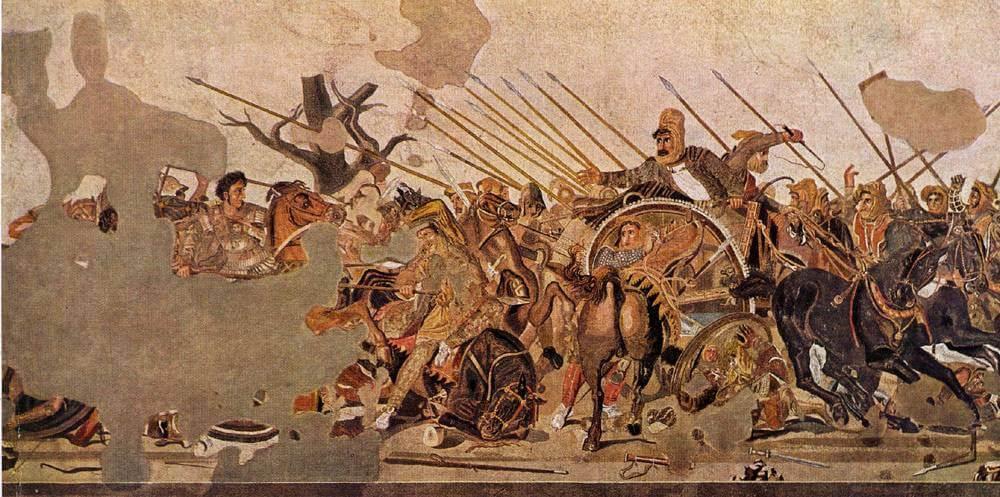 lancia Alessandro Magno