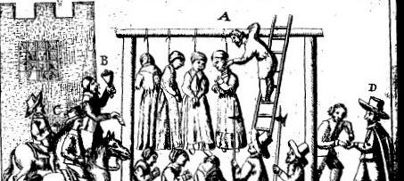 caccia streghe scozia 1650