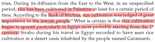 Rice Origin Antiquity and History