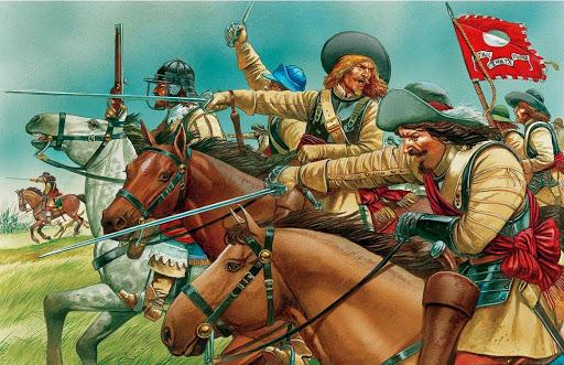 Ironsides in battaglia
