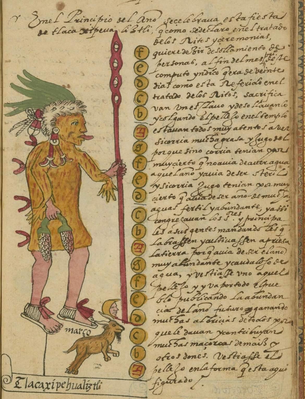 sacrifici aztechi