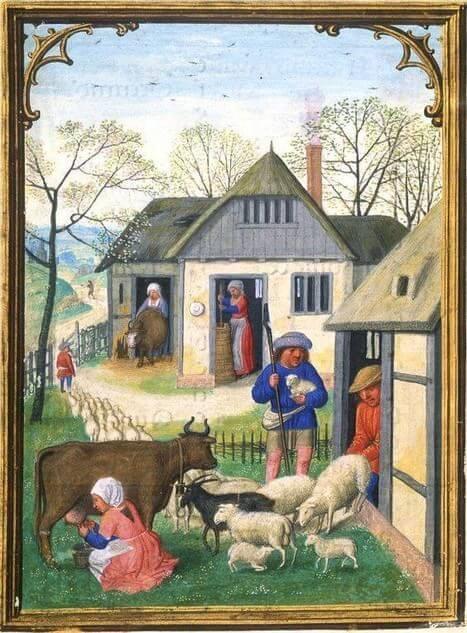 famiglia nel medioevo