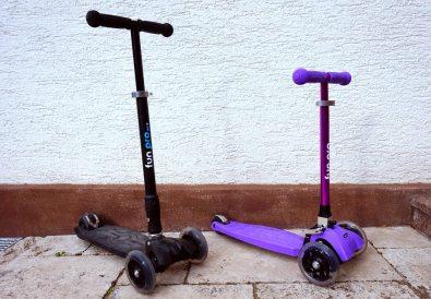 Der Fuhrpark hat Nachwuchs bekommen. 2 neue Roller sind bei zweitöchter eingezogen.