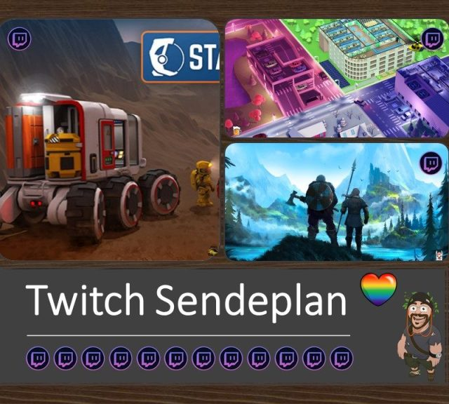 Twitch Sendeplan