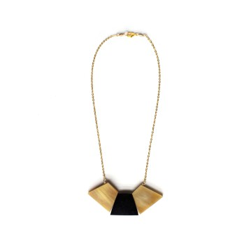 Gold Trapezoid Collar