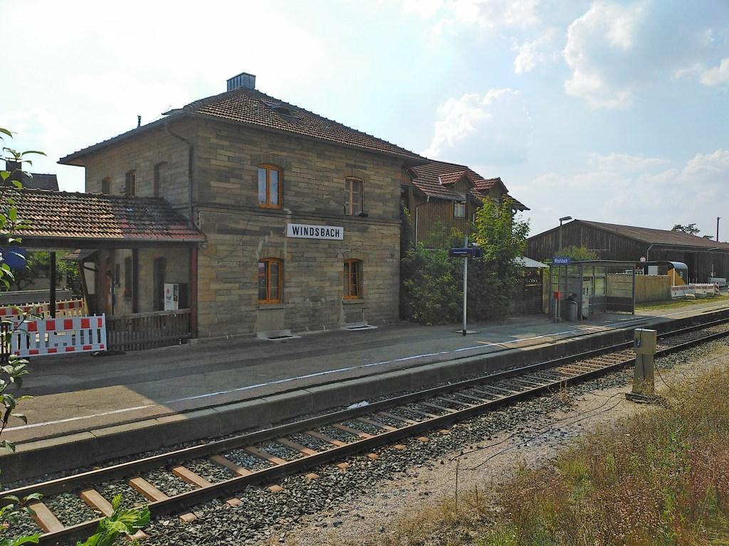 Bahnhof Windsbach