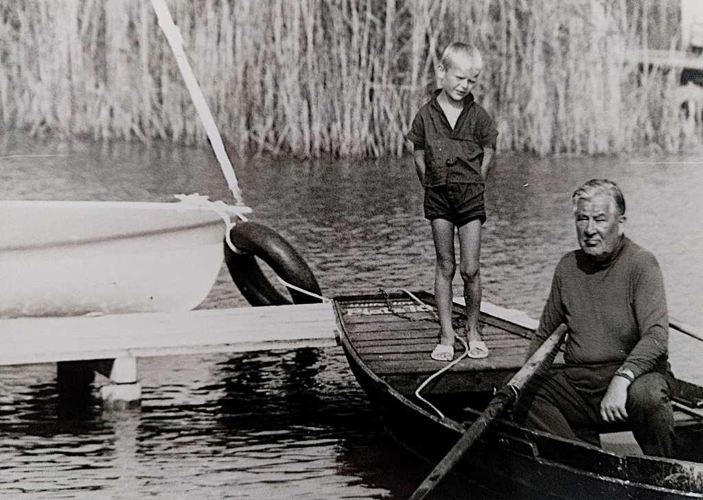 Kindheit - mein Opa und ich