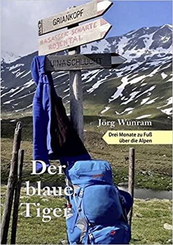 Buchcover Der blaue Tiger von Jörg Wunram