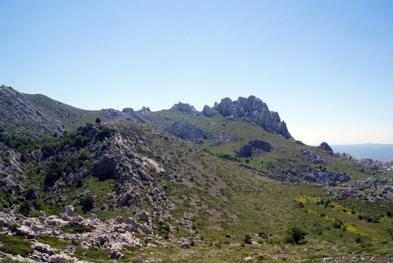 Velebit Gebirge Winnetou Hotspot