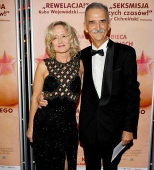 Marek Koterski z żoną
