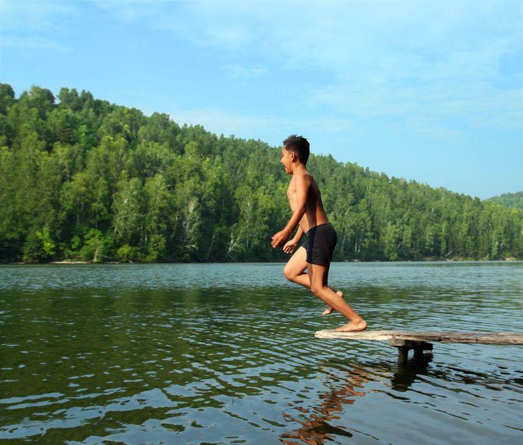 Zasady wypoczynku nad jeziorem