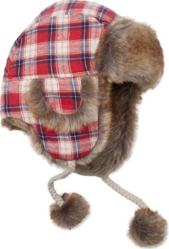 Modna czapka  - uszatka