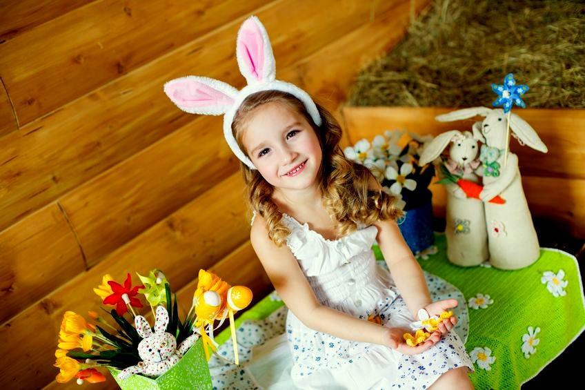 Zabawy z dziećmi w Wielkanoc