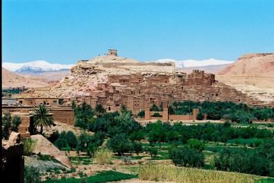 """Ajt bin Haddu, uznawana jest za najpiękniejszą glinianą wioskę nan świecie. Między innymi tu kręcono superprodukcję """"Gladiator"""""""