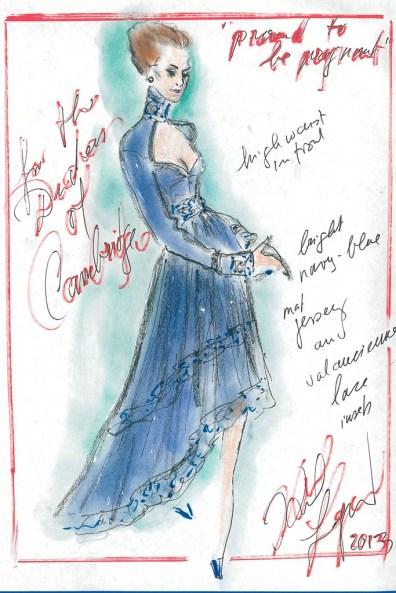 Projektanci dla Kate Middleton / Karl Lagerfeld, Chanel