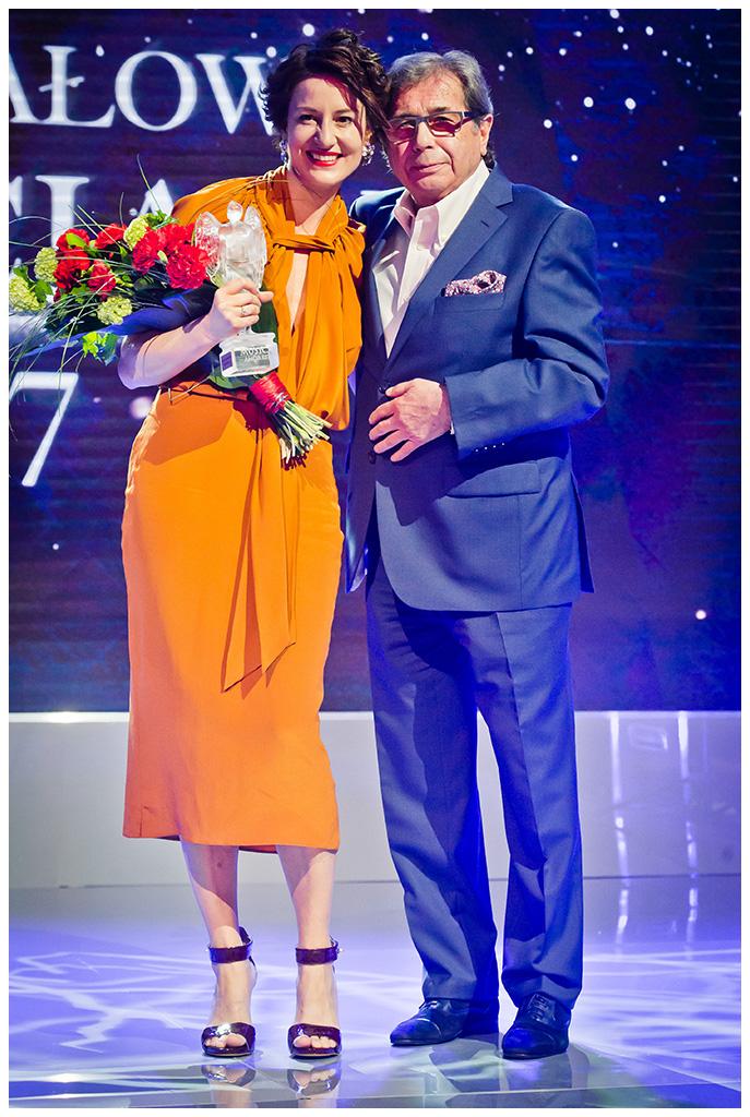 Maja Ostaszewska i Janusz Gajos, fot: www.sportografia.pl