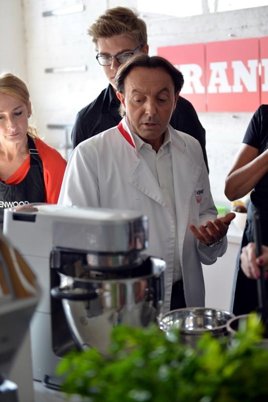 warsztaty kulinarne z Michelem Moran