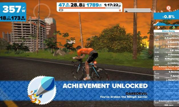 How to hit 50MPH on Zwift