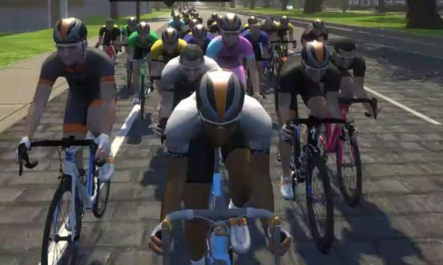 Racing smart on Zwift: don't dodge the draft