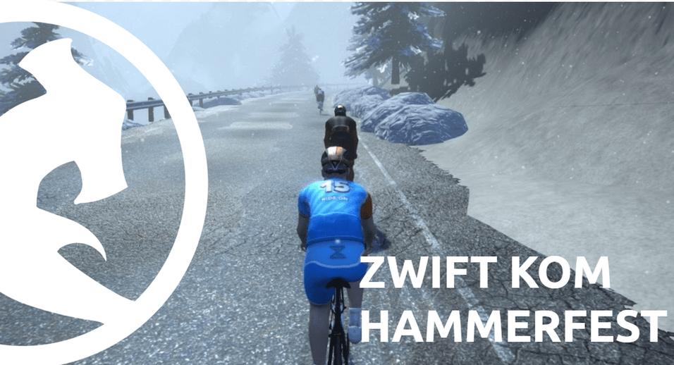 Join the Zwift KOM Hammerfest – April 1-5th 2016