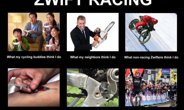 What others think of Zwift racing