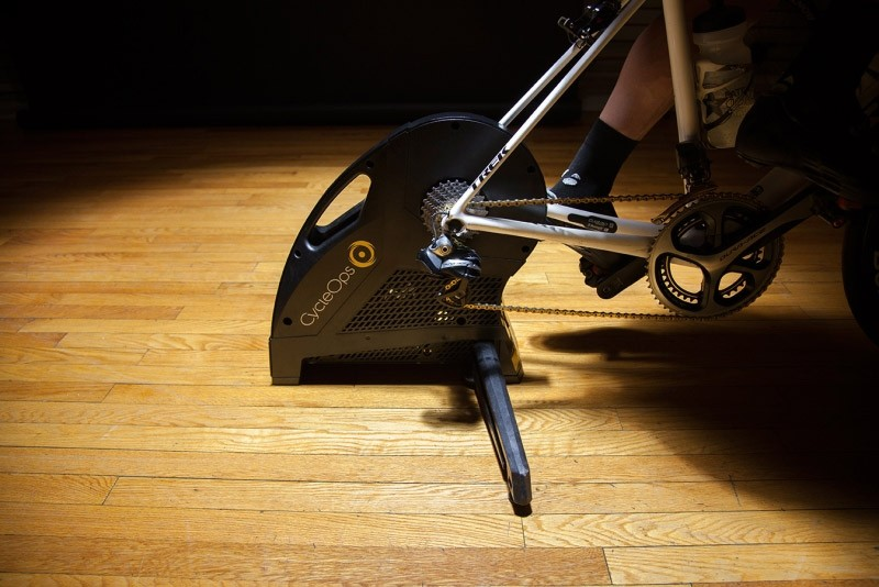 Dropping the hammer – CycleOps' new high-end smart trainer