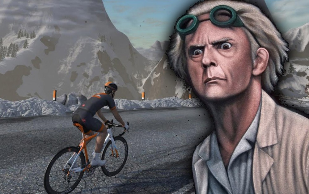 Enter the Zwift time machine